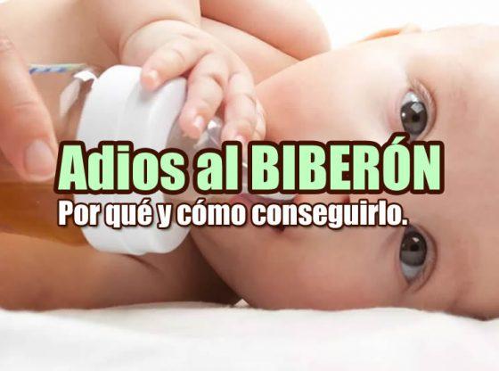 bebé biberón portada