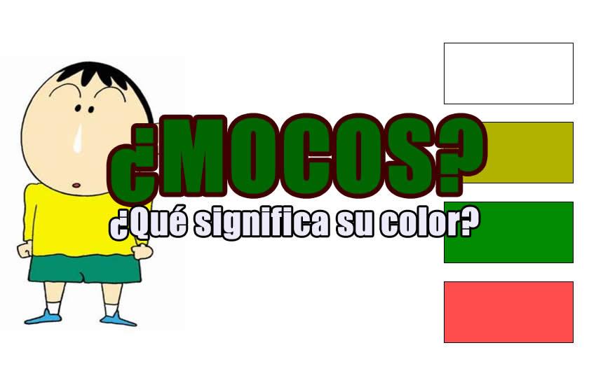 color de los mocos 1