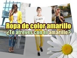 ropa de color amarillo portada