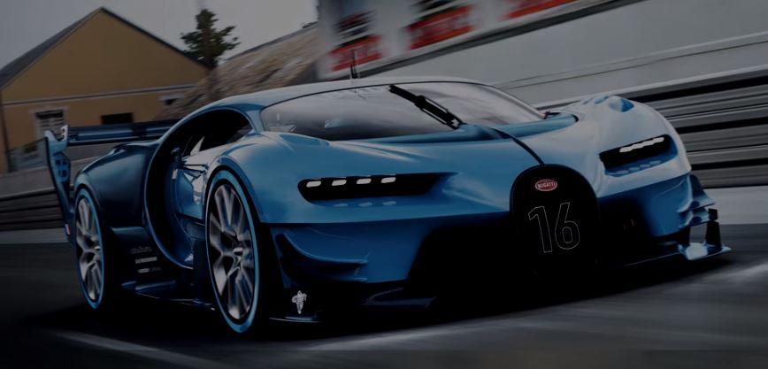 Los super coches deportivos más caros. Bugatti Vision Gran Turismo.