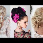 Peinados de boda elegantes y sencillos.
