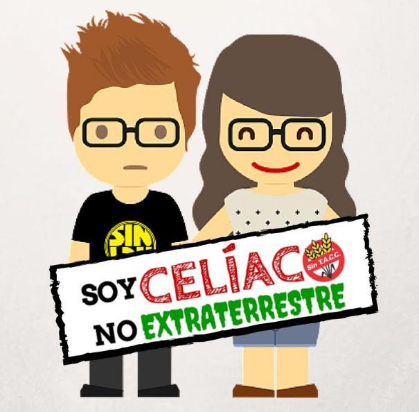 CELIACO GLUTEN NO EXTRATERRESTRE