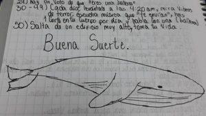 reto de la ballena azul