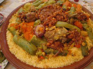receta verdadera cuscus con carne y verduras kus kus