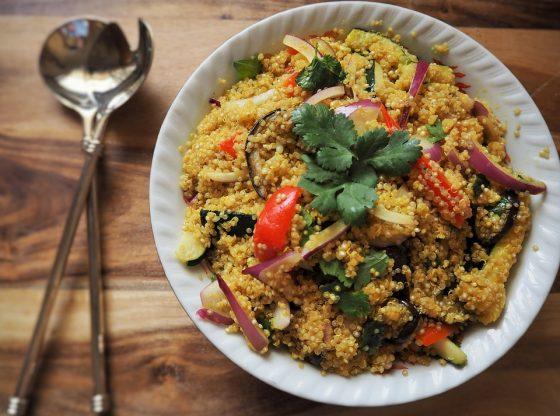 autentico cuscus con carne y verduras receta marroqui