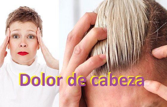 portada dolor cabeza cefaleas migrañas remedios naturales eliminar dolor cabeza