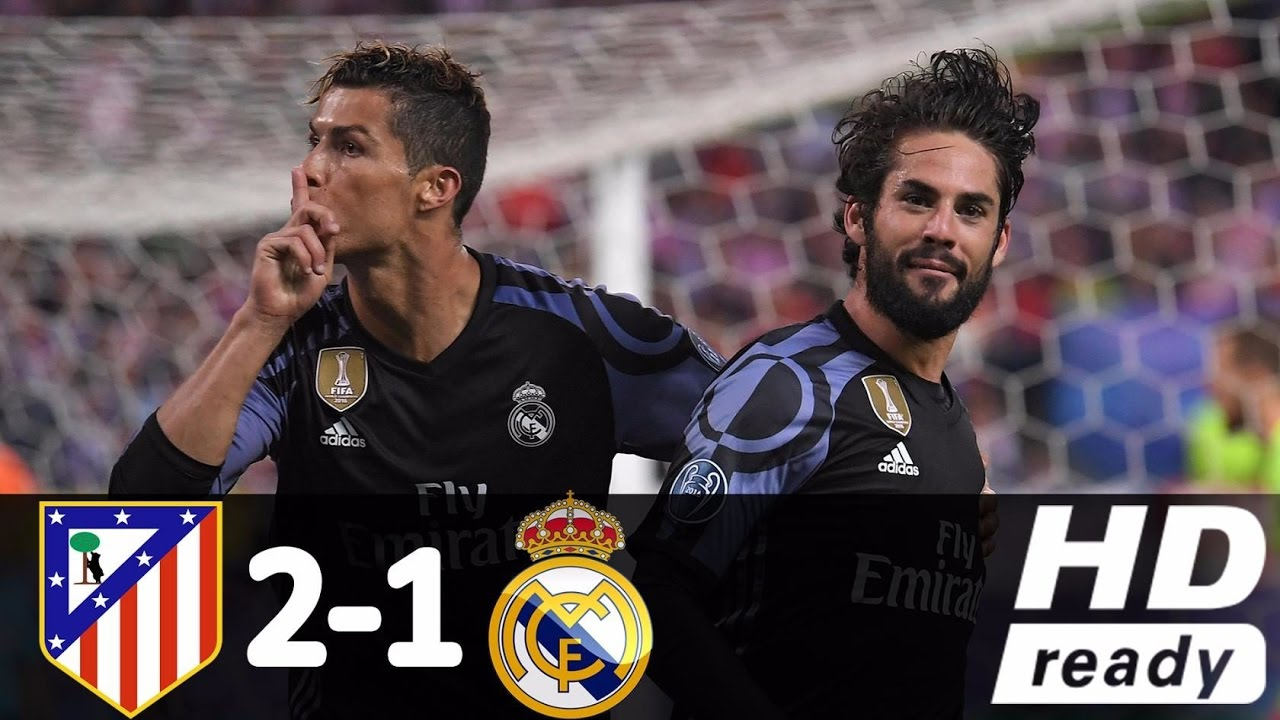 Atlético Madrid Vs Real Madrid: Atletico Madrid Vs Real Madrid 2-1 Champions League