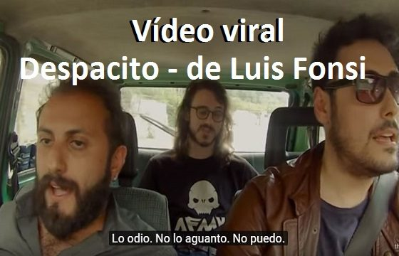 despacito video viral luis fonti