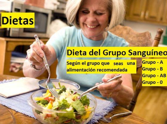 dieta del grupo sanguineo, para adelgazar o perder peso