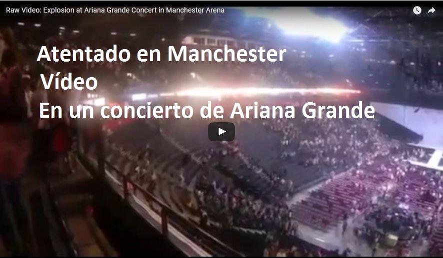 manchester arena atentado rianna Al menos 22 muertos y más de 50 heridos en un atentado suicida en un concierto de Ariana Grande en Mánchester