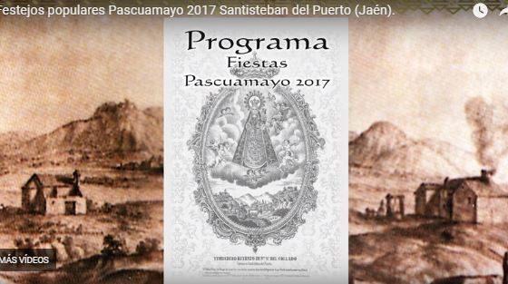 pascuamayo 2017 santisteban del puerto programa de fiestas
