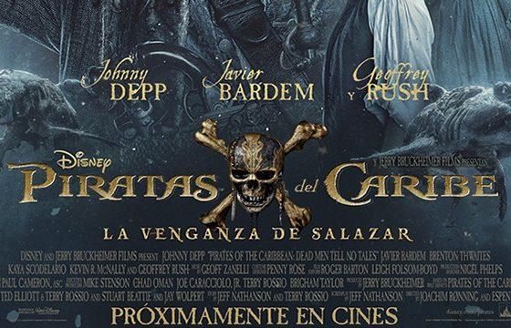 La venganza de Salazar piratas del caribe 5