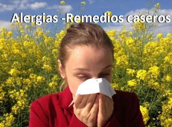 los remedios caseros para alegias al polen