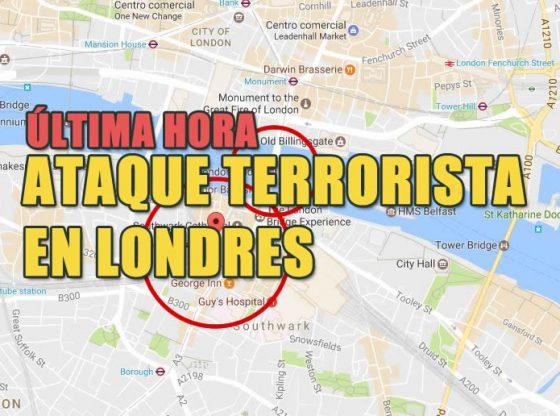 atentado ataque terrorista en londres noticias internacionales hoy