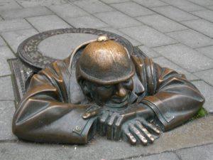 Estatua de cumil en bratislava