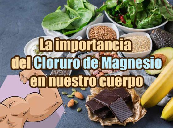 que debo saber sobre el cloruro de magnesio