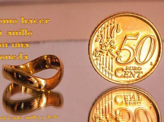 como hacer un anillo de una moneda, significado del anillo segun el dido