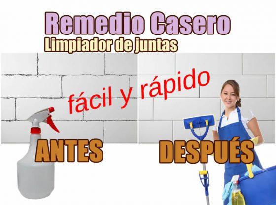 remedio casero limpiar juntas azulejo baño cocina suelo piso