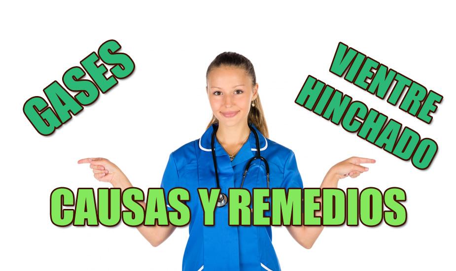 remedio para los gases y la hinchazon del abdomen