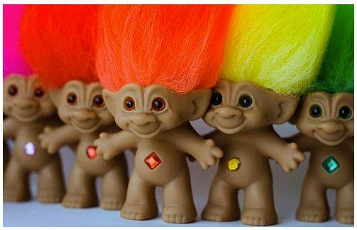 juguetes trolls