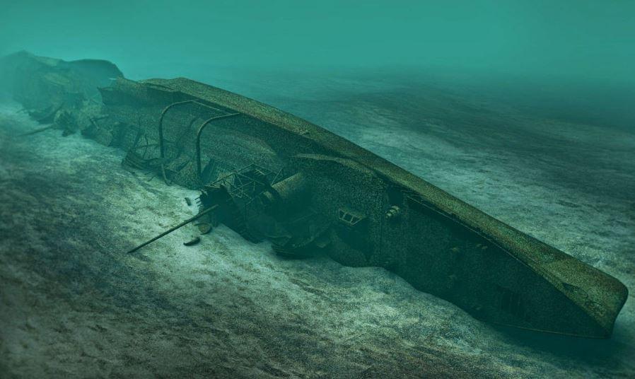 barco hundido escocia