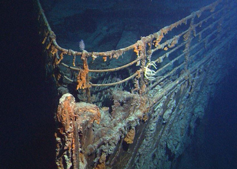 barcos hundidos titanic