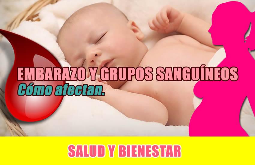 embarazo y grupos sanguineos como afectan a la fertilidad