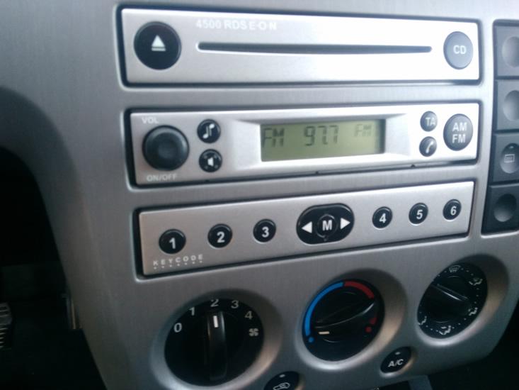 Radio ford desbloqueada