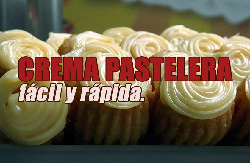 como hacer crema pastelera facil y rapido recetas de postres faciles