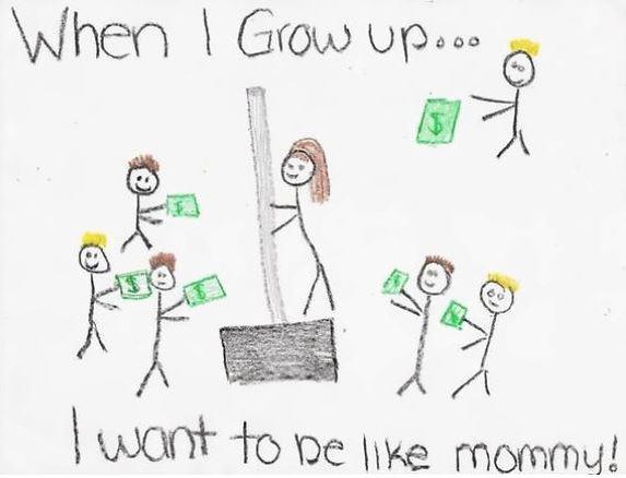 dibujos de niños que no son lo que parecen