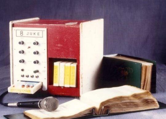 La máquina del primer Karaoke