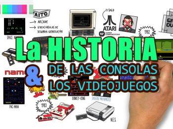 historia de la consola y los videojuegos