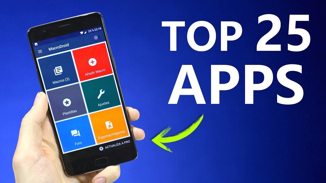 las mejores aplicaciones android del 2017