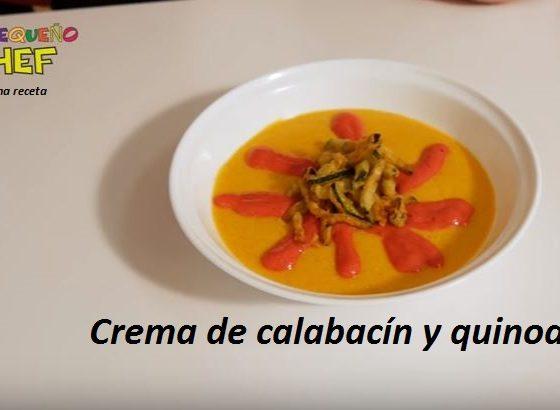 Receta con quinoa crema de calabacin y quinoa o quinua