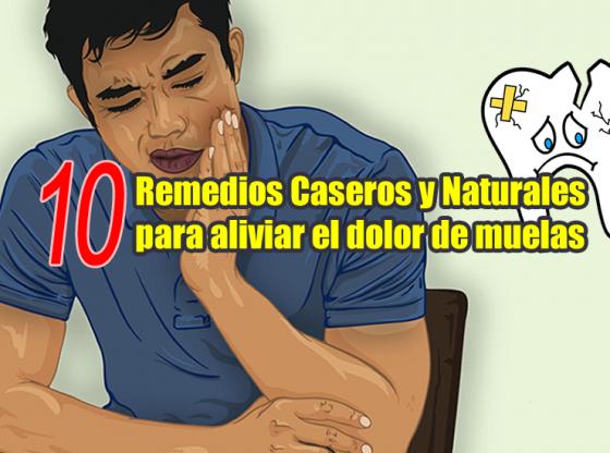 remedios caseros naturales para el dolor de muelas