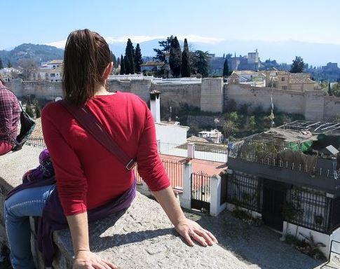 Mirador de San Cristobal en Granada