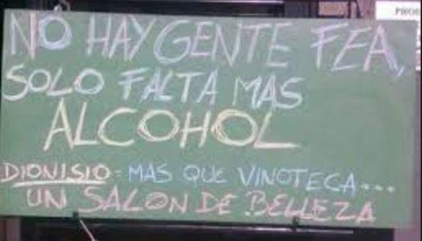 carteles graciosos de bares imágenes de carteles graciosos