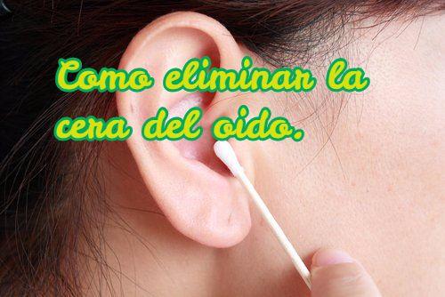 cera del oído