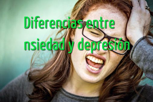 diferncias entre ansiedad y depresión