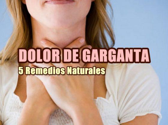 remadios naturales dolor de garganta