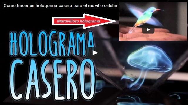 holograma casero facil de hacer