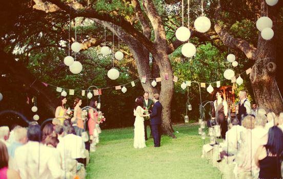 ideas boda al aire libre
