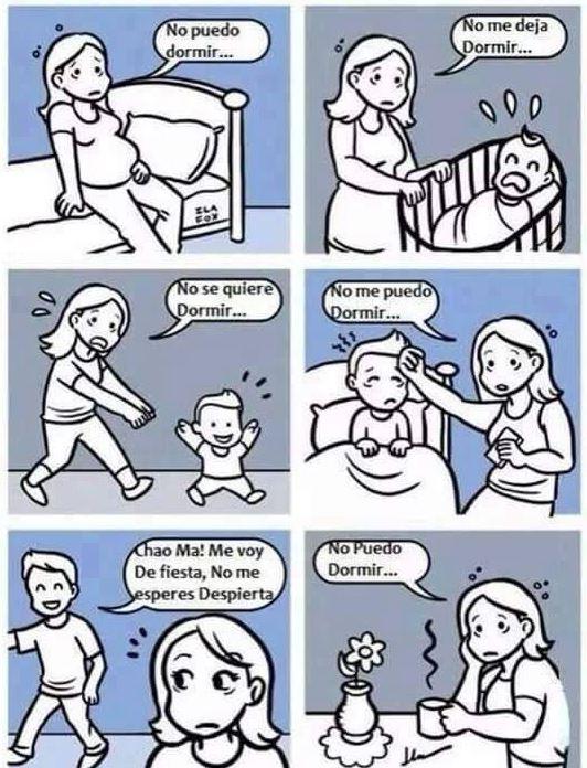 imágenes graciosas - la realidad con los hijos