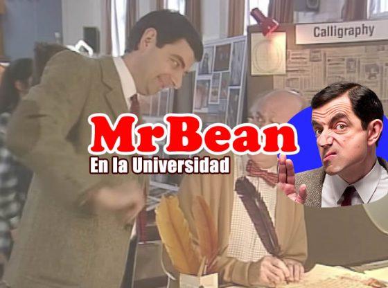 Mr. Bean en la universidad. Video de humor
