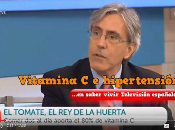 Dr ALmendros saber vivir hipertension tomate vitamina c