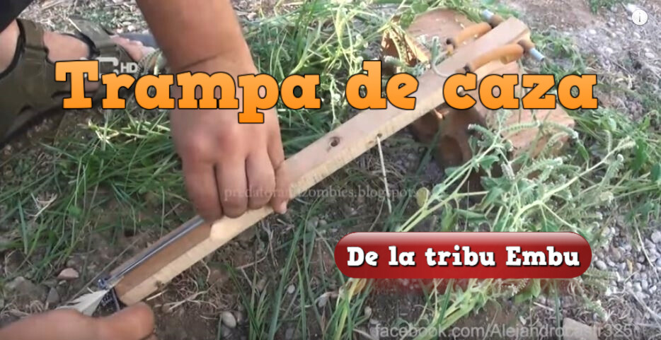 trampa caza tribus embu