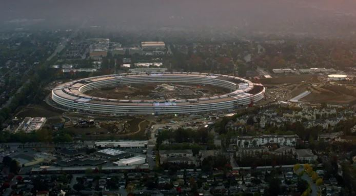 apple park nuevo iphone