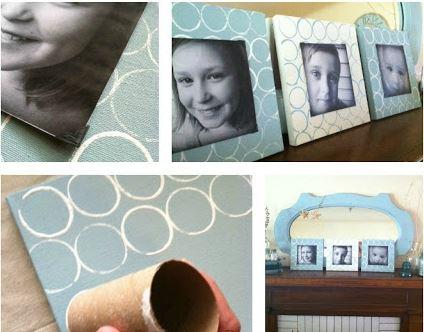 Marcos Para Fotos De Material Reciclado Manualidades Creativas