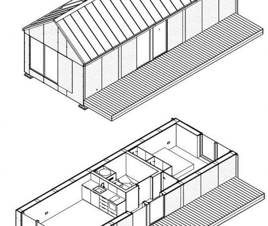 proyecto de construcción de una micro-casa