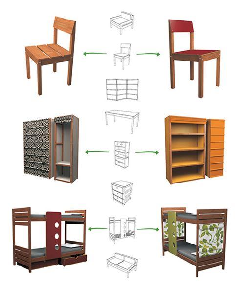1001 planos de muebles de madera gratis especial for Programa para disenar muebles de madera
